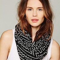 Printed Motif Scarf at Free People Clothing Boutique