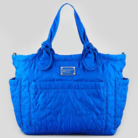 MARC by Marc Jacobs Pretty Nylon Eliz-A-Baby Diaper Bag, Bauhaus Blue