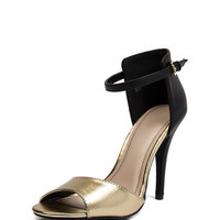 Ankle Strap Peep Toe Stilettos | 2020AVE