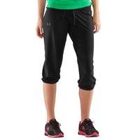Women's UA Charged Cotton Capri Pants Bottoms by Under Armour