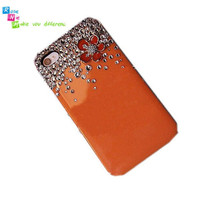 iPhone 4 &amp; 4S mobile handmade hard case Bling cute by rosenie88 98372335