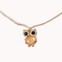 Heirloom Owl Necklace | FOREVER 21 - 1062194074