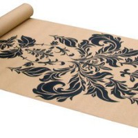 Gaiam Printed Yoga Mat (Damask)