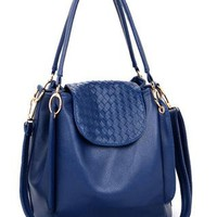 Fashion Blue Leisure Handbag Crossbody Bag from styleonline