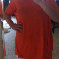 Orange Piko Top