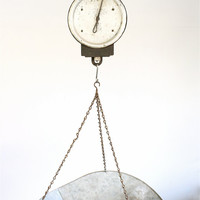 Etsy Transaction -          Antique Hanging Chatillon Scale