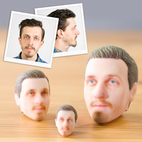 3D Printed Heads at Firebox.com