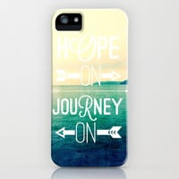 hope on journey on iPhone & iPod Case by Sylvia Cook Photography