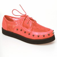 Iron Fist Lovelace Your Face Creeper - Coral