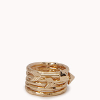 Hammered Arrow Ring Set | FOREVER21 - 1077547855