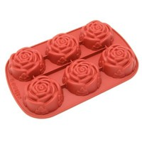 Freshware 6-Cavity Mini Rose Mold and Baking Pan:Amazon:Kitchen & Dining