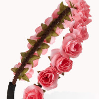 Rosebud Flower Crown | FOREVER21 - 1000050282