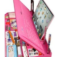 Bluetooth 6 in 1 Keyboard and Organizer with Tablet Stand Restt Color: Pink:Amazon:Computers & Accessories