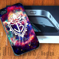 Jonas Brother Logo - Print Custom Case - Rubber or Plastic - iPhone 4 or 4s / 5, Samsung S3 / S4, iPod 4 /5