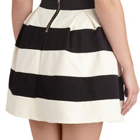 Stripe It Lucky Skirt | Mod Retro Vintage Skirts | ModCloth.com