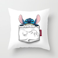 imPortable Sticth... Throw Pillow by Emiliano Morciano (Ateyo)