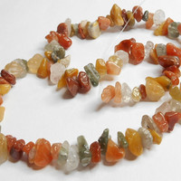 Multicolor Gemstone Medium Chip Strand
