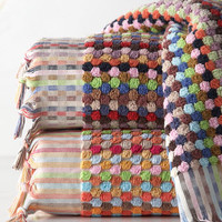 Loomed Turkish Cotton Towels