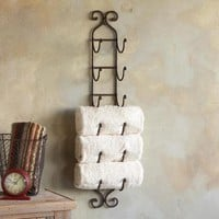 A MANO 6-TOWEL RACK         -                Bath Accessories         -                Bed & Bath         -                Furniture & Decor         -                Categories                       | Robert Redford's Sundance Catalog