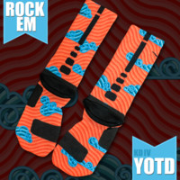 KD IV Year of the Dragon Custom Nike Elite Socks | Rock 'Em Apparel