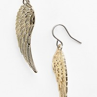 Metal Haven by Kendall & Kylie 'Wing' Earrings (Nordstrom Exclusive) | Nordstrom