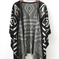 A 080101 European style temperament loose knit jacket from cassie2013