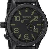 Nixon 51-30 Matte Black Surplus Watch - The Coolest Watches from Watchismo.com