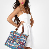 Cross Stitch Printed Tote | Shop Women's Accessories | fredflare.com