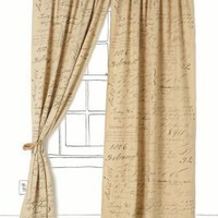 Adorations Curtain - Anthropologie.com