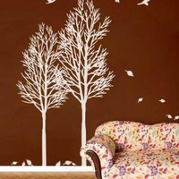 vinyl decals CHANGING SEASONSFALLING by WowWall