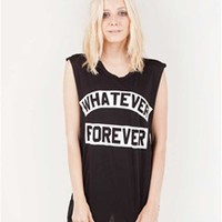 WHATEVER FOREVER Unisex Muscle Tee