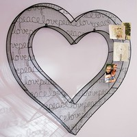 Heart 3D Wire Icon