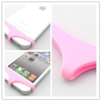 Big Dragonfly Cute Sexy Underwear Series Premium Soft Silicone Home Return Key Button Protection for Apple iPhone 5 and iPhone 4 4s Retail Package Pink:Amazon:Cell Phones & Accessories