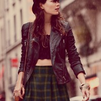 Free People Classic Biker Jacket
