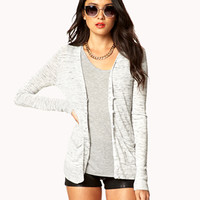 Essential Heathered Cardigan | FOREVER 21 - 2028185362
