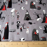 The Oddities Halloween Witches and Ghouls by Loriscountryfabrics