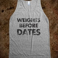 Weights Before Dates