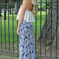 Distinguished Darling Maxi Skirt