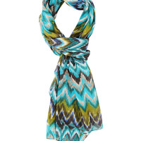 Abstract Zigzag Scarf | FOREVER21 - 1000044720