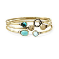 Tinley Road Jeweled Bangle Set | Piperlime