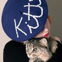 Cheeky Little Kitten Beret by zaracarpenter on Etsy