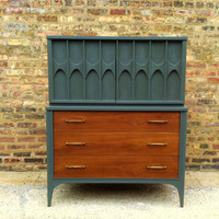 Kent Coffey Mid Century Highboy In Seal