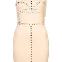 Cutaway Stud Bodycon Dress - New In This Week - New In - Topshop