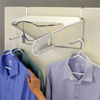 Deluxe Over the Door Hanger Rack