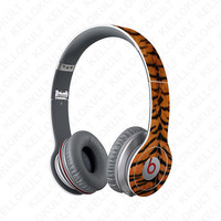 Beats Solo Tiger Animal Print Full Headphone Wrap