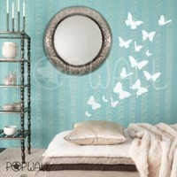 Vinyl Wall Art Sticker Decal  Butterflies    024 by NouWall