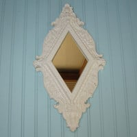 Ornate accent mirror    Wall of mirrors by WendysVintageShop
