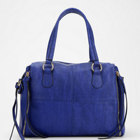 Urban Outfitters - Deena & Ozzy Exposed Side-Zip Vegan Leather Satchel Bag