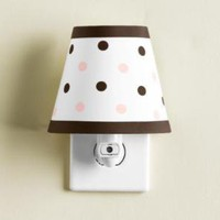 polka dot nightlight | nightlights | Restoration Hardware Baby & Child