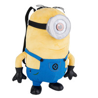 Despicable Me 2 Plush Minion Stuart 15 inch Backpack